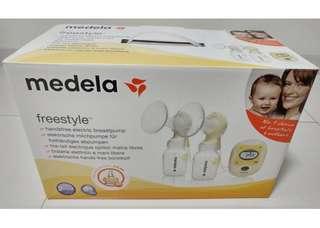 Medela Freestyle Breast Pump (free Pigeon Bottle Warmer)