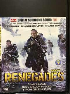 Dvd English movie, Renegades