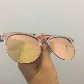 Quay Australia pink sunglasses
