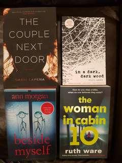 Set of 4 bestselling novels