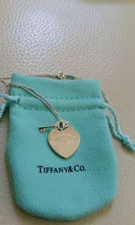 New Tiffany & Co Heart Key necklace