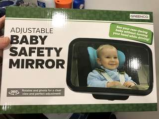 Brand new baby car mirror large