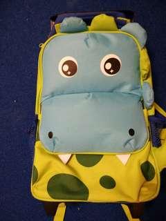 Lovely Lace School Trolley Bag