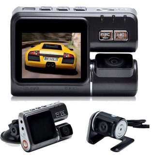 Ready Stock Front & Rear Car Camera -  Night Vision, Loop Recording, Remote Control
