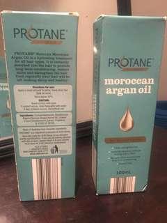 Protane Moroccan Argan Hair Oil x 2