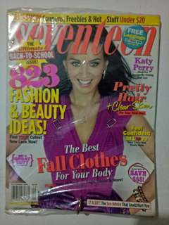 Katy Perry Magazine Seventeen cover
