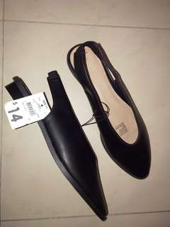 FM $85 to NOW $60 Black Leather Women's Shoes