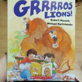 French Bk - Grrrros Lions!