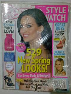 Katy Perry on cover People magazine