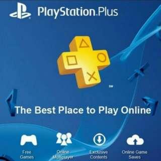 PSN Plus (PlayStation Network) Memberships [All Regions]