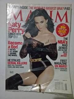 Katy Perry on cover Maxim magazine