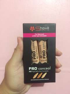 Selling this two pcs of shawill concealer