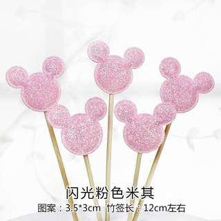 Mickey/Minnie Mouse Cake topper