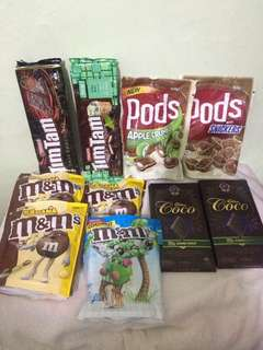 Imported chocolates from Australia. Take all for only 1,700!!