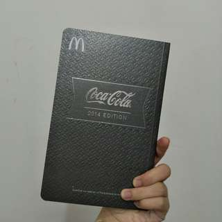 Mcd × Coca-Cola notebook