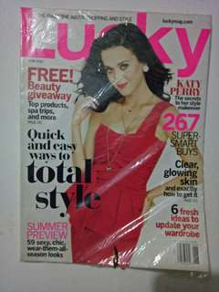 Katy Perry on cover magazine