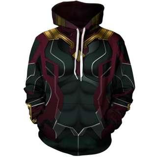 Vision Unisex Hoodie Avengers Infinity War