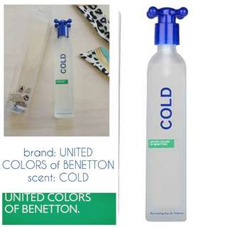 Cold United Colors of Benetton perfume