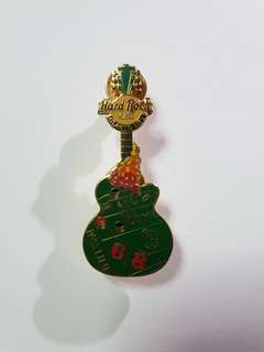 Atlantic City Hard Rock Cafe Guitar Pin, Collectible