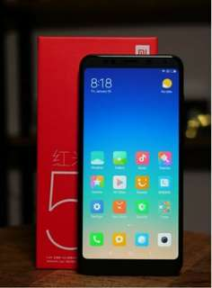 Hot!! Xiaomi Redmi 5 Plus 32GB ( Xiaomi Redmi brand)
