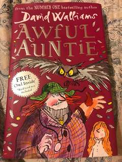 David Walliams Awful Auntie Hardback Book