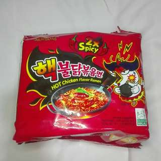 Samyang 2x Spicy Hot chicken flavor ramen