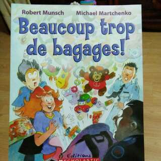 French Bk - Beaucoup Trop De Baggages!