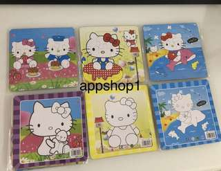 Hello kitty puzzle- goody bag, goodies bag gift, goodie bag packages or party door gift