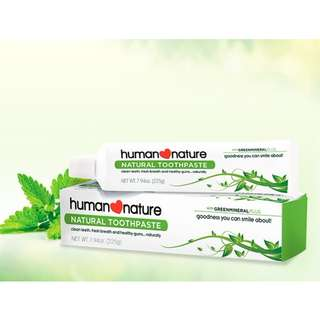HUMAN❤NATURE Natural Toothpaste 120g / 225g