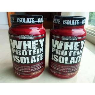 Whey Protein Isolate Chocolate 2 lbs (30G Protein)