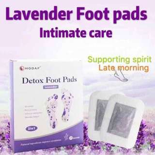 New detox foot pads