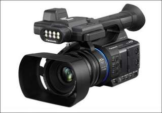 Kredit Panasonic full-HD camcorder HC-PV100
