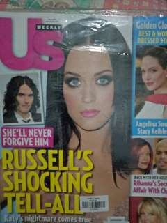 Katy Perry on cover US weekly