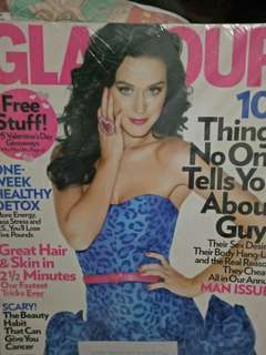 Katy Perry on cover Glamour magazine