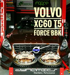 Volvo XC60 (T5) : FORCE Big 8 Pot BBK with 380mm Floating Rotors