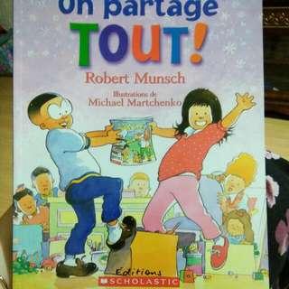 French Bk - On Partage Tout!