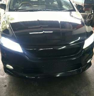 HONDA STREAM ON OUR SUPER BRIGHT LED HEADLIGHT AND FOGLIGHT