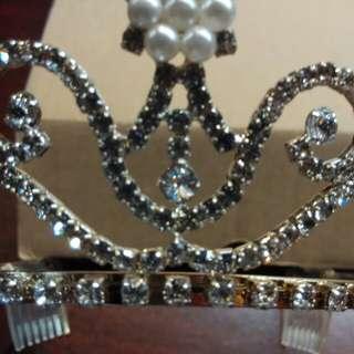 公主頭飾(價錢面議)