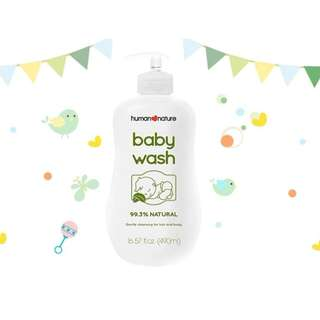 HUMAN❤NATURE Powder Scent Baby Wash 50ml/190ml/490ml