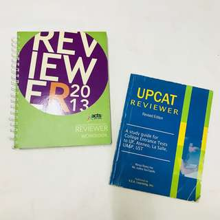 CETs and UPCAT Reviewer