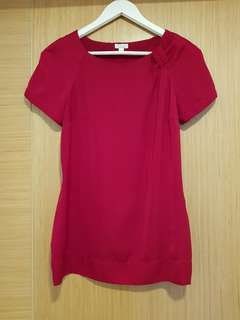 Raspberry Red Blouse size S