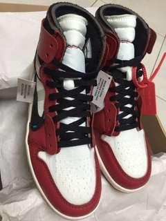 The Ten off white : The 10: Air Jordan 1
