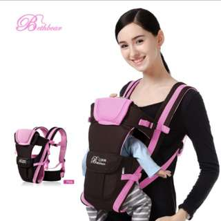 4 in 1 carrier for baby(color pink)