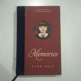 Memories by Lang Leav