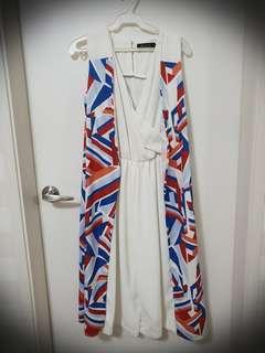 R.A.F. white jumpsuit
