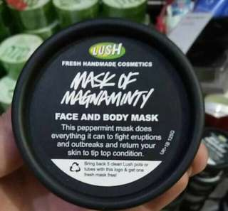 Lush of magnaminty