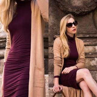 NEW!! DRESS WITH CARDIGAN (PREORDER/NO TO COD/FITS S,M)