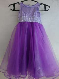 Violet Gown for 1 yr. Old