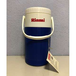 BNWT Blue Rinnai 2 Litre Liter Portable Sports Water Cooler Bottle Jug