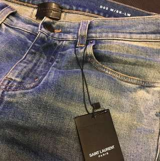 Saint Laurent jeans sz29 new